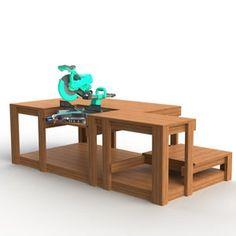 PDF Mobile Project Center Workbench Plans DeWalt Kreg | Etsy Table Saw Workbench, Folding Workbench, Diy Workbench, Router Table, Woodworking Bench, Woodworking Crafts, Workbench Designs, Workbench Organization, Simple Workbench Plans