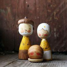 сказочка на ночь вам :) #woodentoys #игрушкииздерева #деревяннаясказка #fairytale