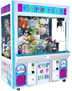 Emporium Plush Claw Crane Machine From ICE
