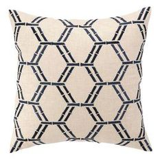 Bamboo Pillow in Navy