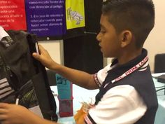 "11-year-old Juan David Hernandez has created a ""bulletproof backpack"" that he says can protect kids against ""everyday shootings in his city."""