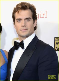 He is more Christian Grey than Superman <3