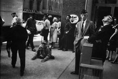Classic Street Photographs: American Legion by Garry Winogrand via StreetReverg Magazine
