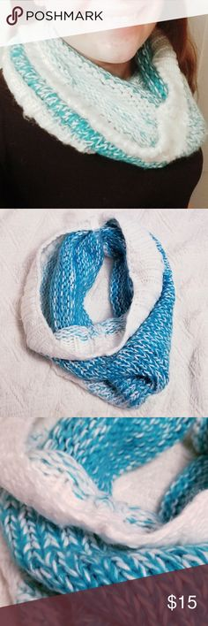 Artic Blue and White Cowl Artic Blue and White Cowl - Warm, heavy, and thick perfect for the upcoming seasons. New w/ Tags! Mossimo Supply Co. Accessories Scarves & Wraps