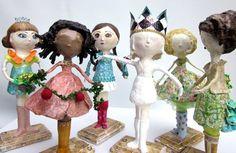 Dolls Art Handmade Girl Sculptures OOAK by ElmPlace on Etsy, $245.00