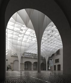 Warsaw museum - roofing on Behance