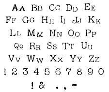 Cc Monogram Alphabet Letter Stencils  Monogram Alphabet