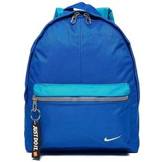 5a1d55b90d Nike Just Do It Mini Backpack (€21) ❤ liked on Polyvore featuring bags