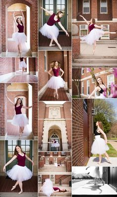 Senior dance photography. Senior ballet photography. Senior girl dancer | M Rose Photography