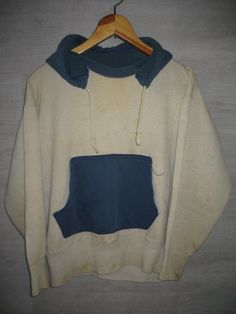 Two Tone Hooded Sweat parka, 1940's