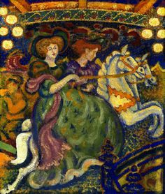 "Georges Lemmen  ""The Carousel"""