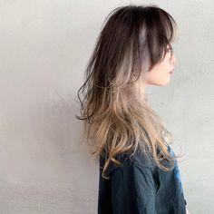 Hair Color Streaks, Hair Dye Colors, Shot Hair Styles, Curly Hair Styles, Hair Inspo, Hair Inspiration, Haircuts Straight Hair, Mullet Hairstyle, Dye My Hair
