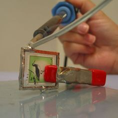 Top 11 Stained Glass Soldering Tips - Learn How to Solder Glass Art - Tools And Tricks Club Glass Jewelry, Metal Jewelry, Jewlery, Jewelry Tools, Jewelry Ideas, Diamond Jewelry, Jewelry Crafts, Handmade Jewelry, Earrings Handmade