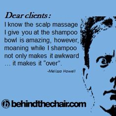 Dear clients.... um....