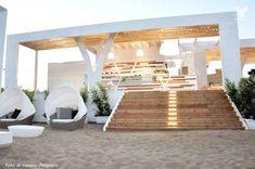Tayga Beach Club near Taranto # Puglia Home Design, Beach Design, Interior Design, Beach Restaurant Design, Outdoor Restaurant, Surf House, Beach Cafe, Backyard Pool Designs, Lounge Design