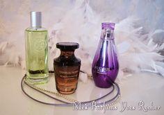My Little Make Up: De la fraîcheur à l'envoûtement en passant par la gourmandise... : mes parfums Yves Rocher