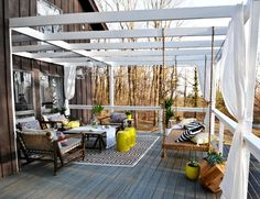 Bright Ideas for Decorating a Swinging Outdoor Deck - WSJ