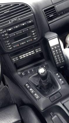BMW e36 cabrio interior