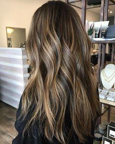 18 Perfectly Bronded Balayage Hair Color Ideas - fall hair color , autumn hair color ,brunette hair #haircolor #hair #brondehair