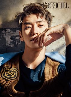 Kim Young Kwang - L'Officiel Hommes Magazine February Issue '17