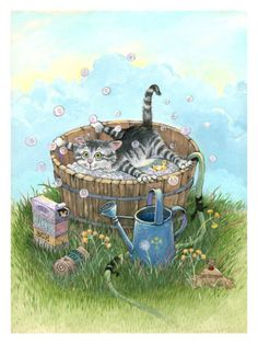 Bath Time - Gary Patterson