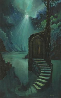 I love this a door that will lead you to a magikal place.
