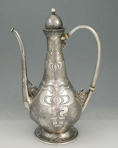 Tiffany Antique Silver Rare Coffee Pot