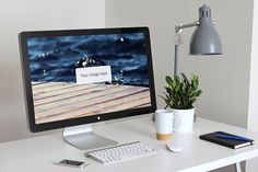 Check out Thunderbolt Display Mockups by Medialoot on Creative Market