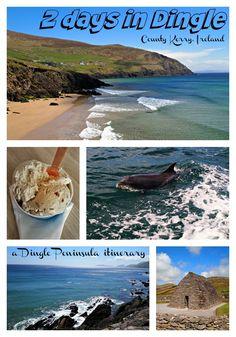2 Day Dingle Itinerary, County Kerry, Ireland. Ireland travel tips | Ireland vacation | IrelandFamilyVacations.com