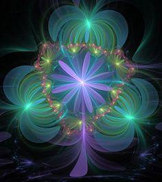 Ethereal Flower On Vacation fractal art http://svetlana-nikolova.artistwebsites.com/featured/ethereal-flower-on-vacation-svetlana-nikolova.html