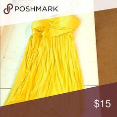 Summer dress Bright yellow dress Dresses