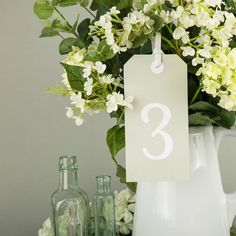 Heritage Sprig Table Plan And Table Numbers