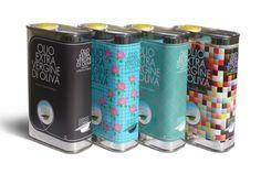 Diseños de Packaging de Aceite de Oliva