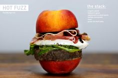 I love burgers, and I would totally try a Hot Fuzz #HotFuzzOfficial