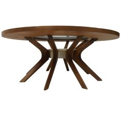 """Coffee Table with """"hyalyn"""" Pottery Centerpiece 1"""