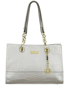 Anne Klein Coast is Clear Small Chain Tote - Tote Bags - Handbags & Accessories - Macy's