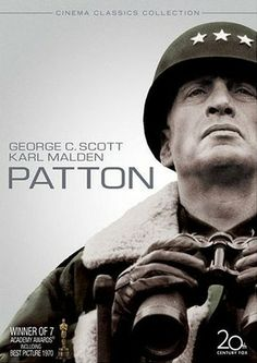 Patton. George C. Scott was incredible in this role.