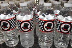 Magic Birthday Party - super cute water bottles