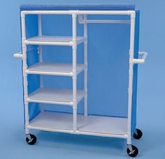 Image result for pvc Clothing cart