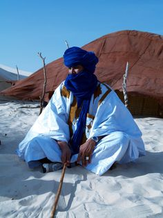 Africa | Portrait of Hamid.  Tuareg.  Mali | © Bindubaba images