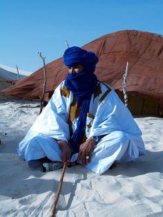 Africa | Portrait of Hamid. Tuareg. Mali | © Bindubaba images