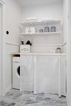 10 Worthy Cool Tricks: Minimalist Decor Home Spaces minimalist decor home spaces.Minimalist Bedroom Loft Lamps minimalist home design desk areas.Cozy Minimalist Home Kitchens. Hidden Laundry Rooms, Laundry Room Organization, Laundry Storage, Small Laundry, Laundry Room Design, Laundry Nook, Interior Design Minimalist, Minimalist Bedroom, Minimalist Decor