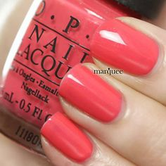 OPI I Eat Mainly Lobster also in gelcolor
