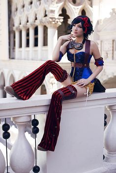 Snow White | Animegacon 2013 #cosplay... it's like Steam Punk Snow White... awesome.