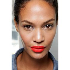 Get the Look Backstage Beauty at Jason Wu Spring 2012 ❤ liked on Polyvore