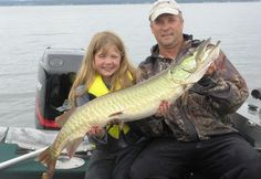 New York Girl Lands Potential 'Smallfry' World-Record Muskie