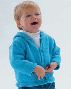 Free Knitting Pattern - Toddler & Children's Clothes: Toddler Hoodie