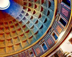 Pantheon's dome, Rome, Italy. 24 Hours In Rome: 5 Speed Travel Tips For Visiting The Italian Capital - YourWay!Blog - RoutePerfect.com