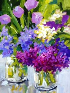 """Daily+Paintworks+-+""""Eye+Catching""""+-+Original+Fine+Art+for+Sale+-+©+Libby+Anderson"""