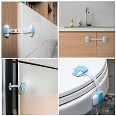 The Baby Lodge Child Safety Cabinet Locks   Pack Of 6   The Ultimate  Childproofing System